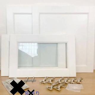 IKEA ベストー 扉とヒンジのセット