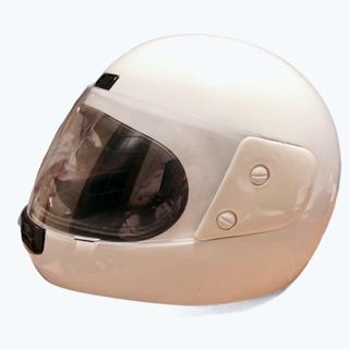 ヘルメット メンズ Mサイズ  白 中古品