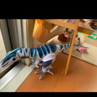 ロボザウルス ブルー 恐竜 ロボット リモコンなし