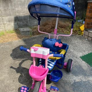 キティの三輪車