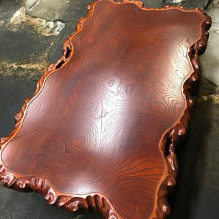 【ネット決済】座敷テーブル、一枚板