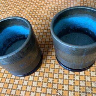 真鍮製 手あぶり火鉢 2個