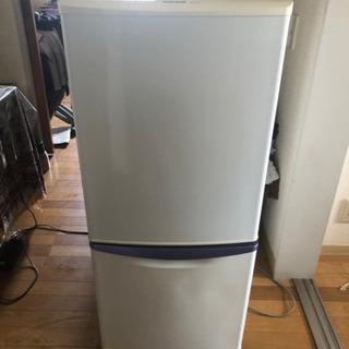ナショナル製冷蔵庫135L 無料