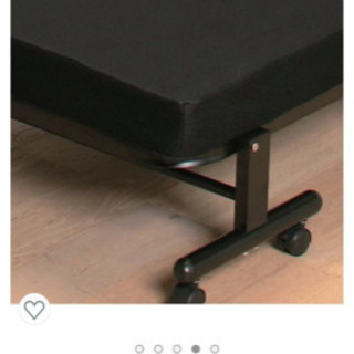 【ネット決済】【値下げ可】シングル折り畳みベッド