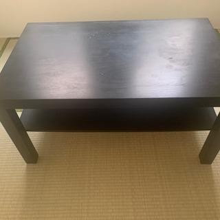 IKEA ローテーブル 黒