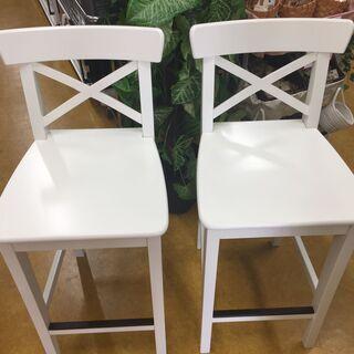 IKEA(イケア) 木製チェア2脚セット INGOLF20948