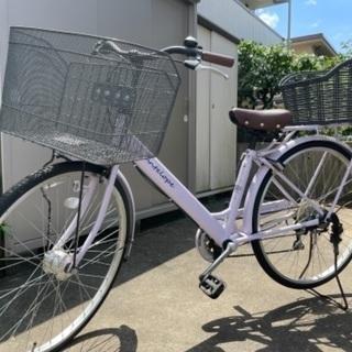 【ネット決済】💜自転車 女子の大好きラベンダーカラー💜