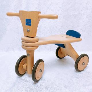 ボーネルランド 三輪車 4輪車 木製 楽天で13000円します
