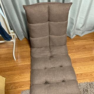 座椅子 ブラウン ニトリ