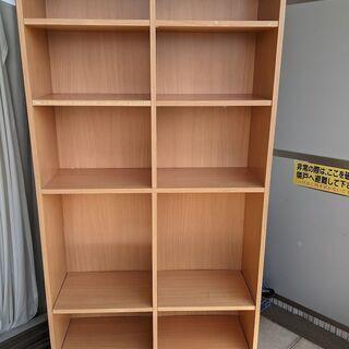 【差し上げます】 木製 本棚