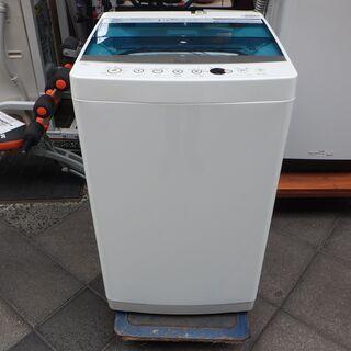 【美品中古】洗濯機 Haier 7kg JW-C70A 2018...