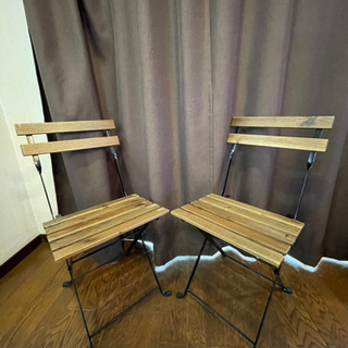 IKEA チェア2脚