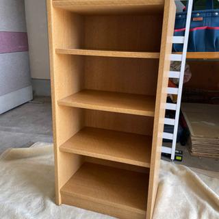 831 木製4段カラーボックス