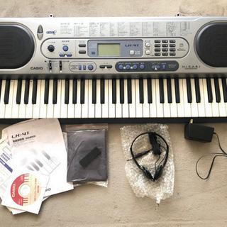 CASIO LK-41 HIKARI 電子ピアノ