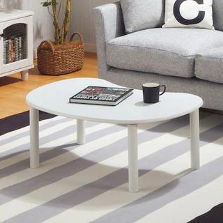 ニトリの白テーブル
