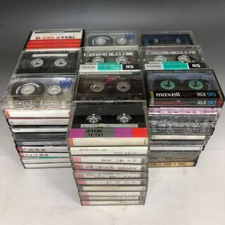JU1/12 カセットテープ 100本 まとめて 大量 ノ…