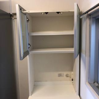 小型食器棚差し上げます - 足立区