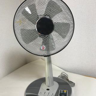 扇風機 リモコン付き 高さ調節可