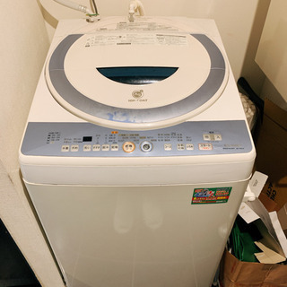 シャープ洗濯機7kg 無料