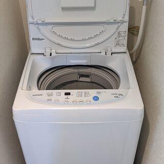 DW-P46CB-W 全自動洗濯機 ホワイト [洗濯4.6…