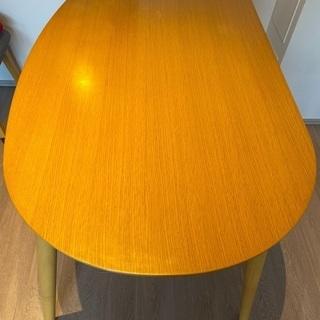 楕円形 ダイニングテーブル