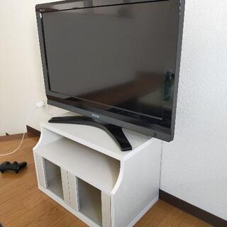 (決まりました)東芝REGZA32型 テレビ台付
