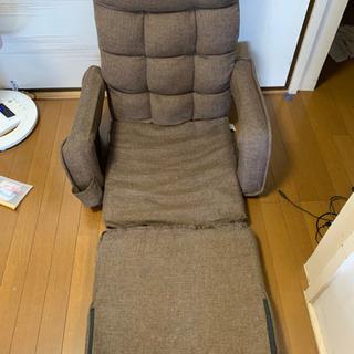 【ネット決済】座椅子 ソファベッド 折り畳み 42段階リクライニング