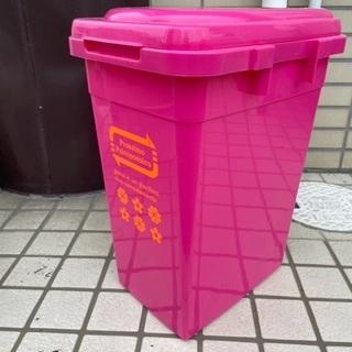 決まりました■ピンクのゴミ箱 ダストボックス