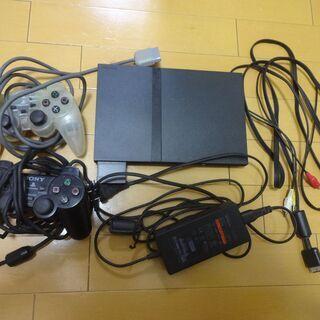 ソニー SONY 薄型 PS2 ブラック SCPH-70000 ...