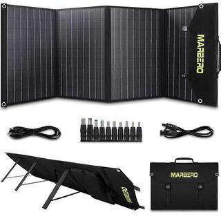 ソーラーパネル100W 太陽光発電 自立スタンド付き 新品未使用...