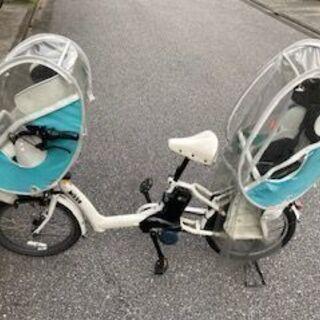 子供乗せ電動自転車(ブリヂストン、ビッケ) チャイルドシートのレ...