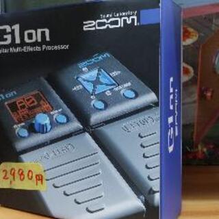 ZOOM ギター マルチエフェクター G1on 73107