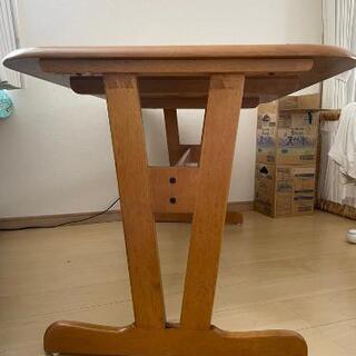 天然木ダイニングテーブル5点セット