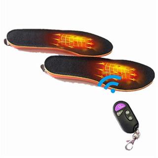 【ネット決済】【未使用・美品】電熱インソール 足温器 充電式 ※...