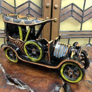 イタリア製◆レンゾ・ヴェルゾリーニ◆陶器製クラシックカー♪
