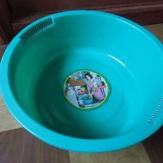 ●無料● 丸型 洗桶 両側水切り付 和泉化成株式会社 グリ…