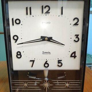 振り子時計 SEIKO レトロ