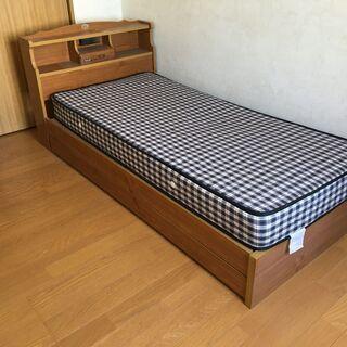【無料で差し上げます!】シングルベッド/引き取り限定