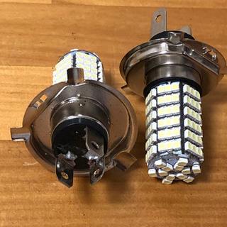 LEDヘッドライト2個(セル120個) h4タイプ