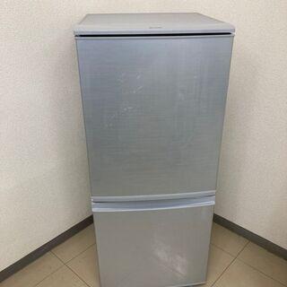 SHARP 冷蔵庫 137L 2017年製 CR072601
