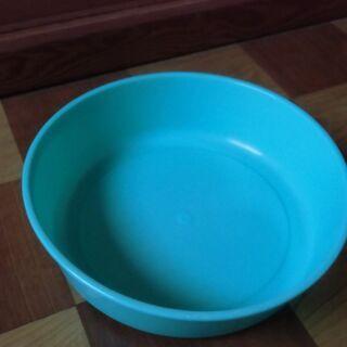 ●無料● 青緑 プラスチック 容器 タライ マルチ 入れ物 差し...