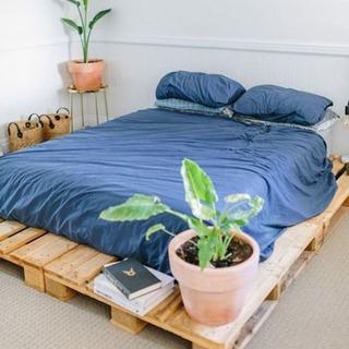 海外 パレットベット ベットフレーム 寝具