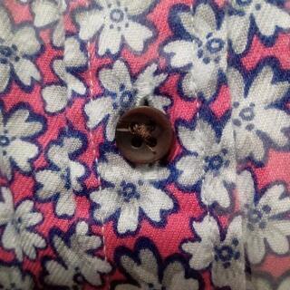 未着用★フランネルシャツ花柄★ - 服/ファッション