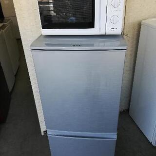【23区配送無料】⭐シャープ冷蔵庫137L+ハイアール電子レンジ...