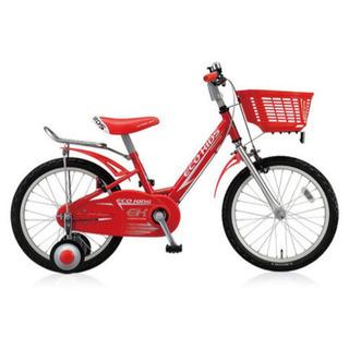 ブリヂストン☆18インチ子供用自転車☆マウンテンバイク☆赤