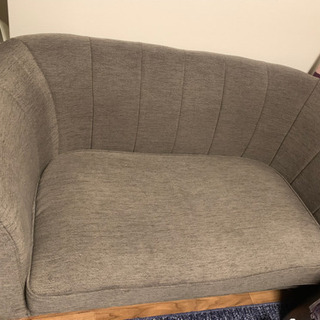 【ネット決済】二人がけソファ売ります。