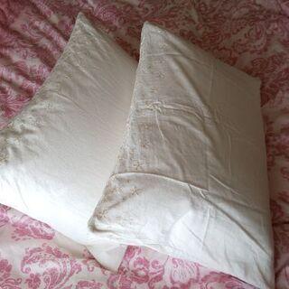 Francfranc枕&枕カバー2セット