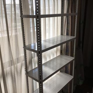 【値下げ致しました】スチール製の5段棚 - 名古屋市