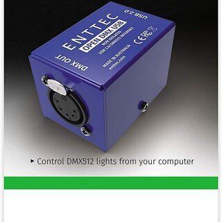 【ネット決済・配送可】OPEN DMX USB 70303 PC...