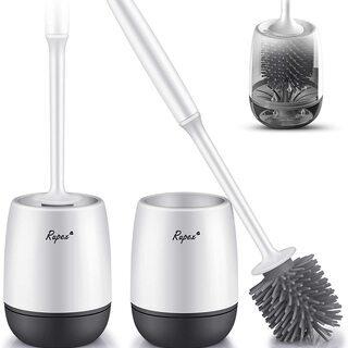 【値下げ】トイレブラシ 2個セット トイレ掃除 掃除ブラシ ケー...